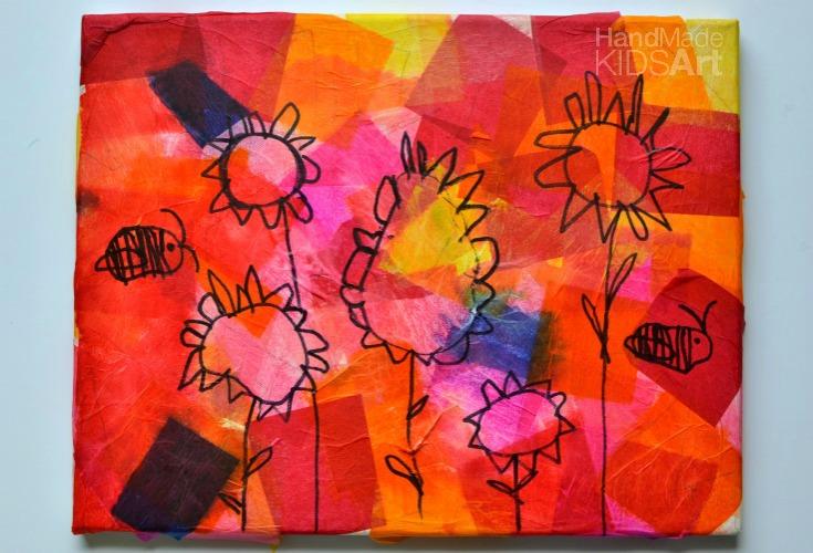 Tissue Paper Garden