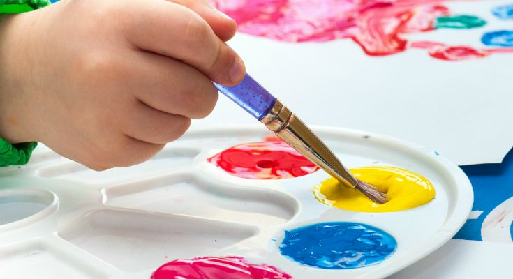 how to paint_hand