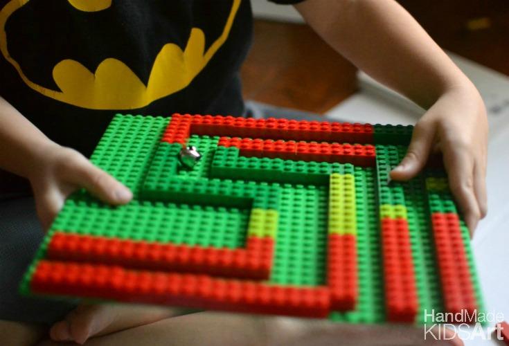 lego maze b