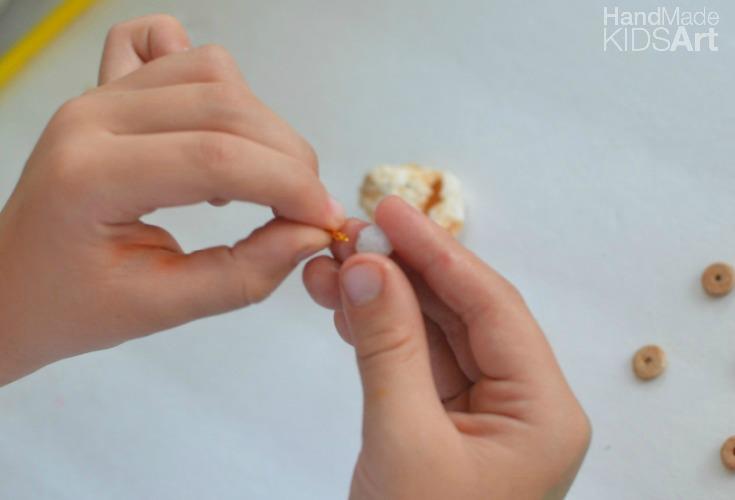shell ornament b bead