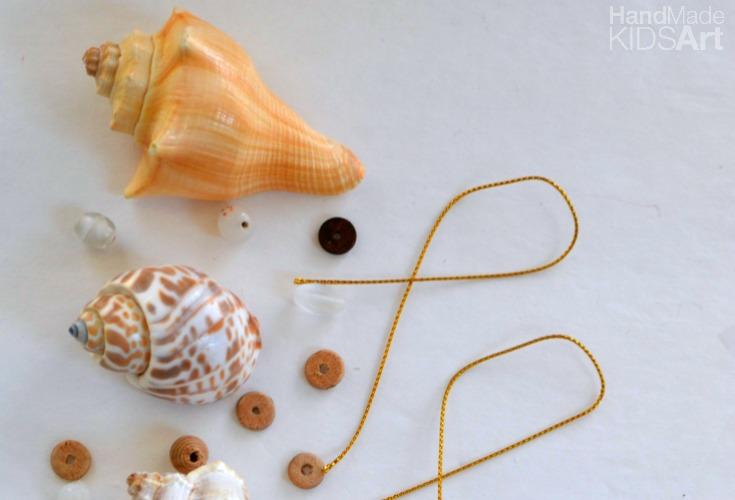 shell ornament materials