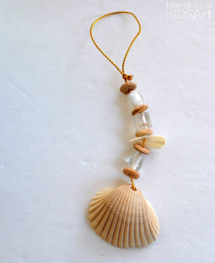 shell ornament white