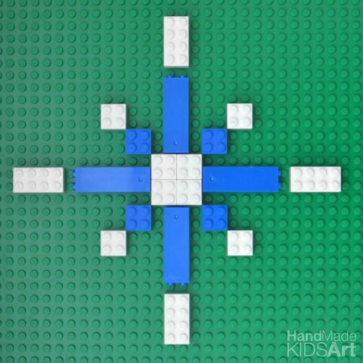 10 steam activities lego snowflake