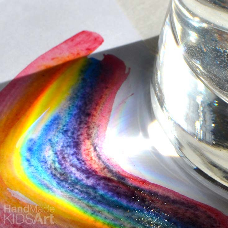 Make a Rainbow a STEAM Activity for Kids