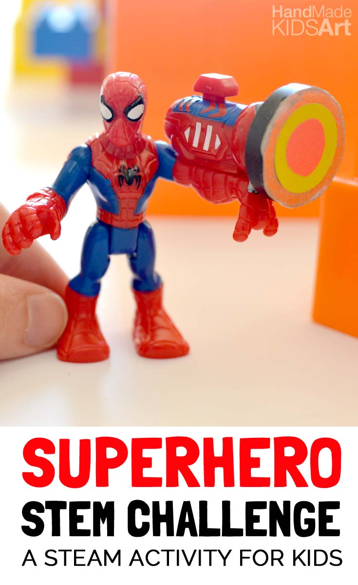 Superhero STEM Challenge for Kids
