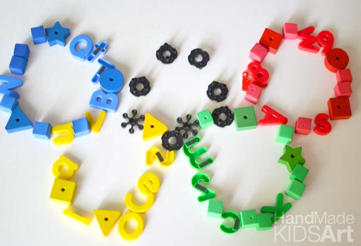 olympic rings loose parts