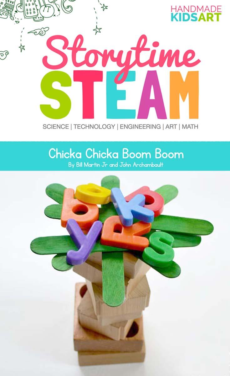 Storytime STEAM Activities for Preschoolers