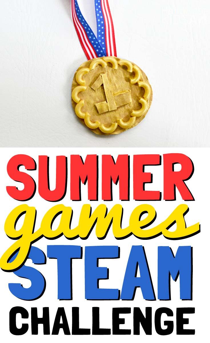summer games gold medal
