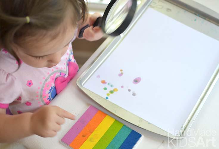 Fingerprint Science Activity for Preschoolers