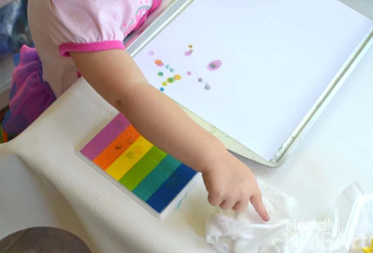 Science Activities for Preschoolers Fingerprints