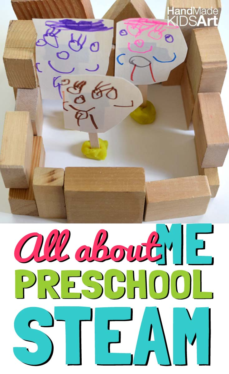 All About Me Math Activity for Preschoolers