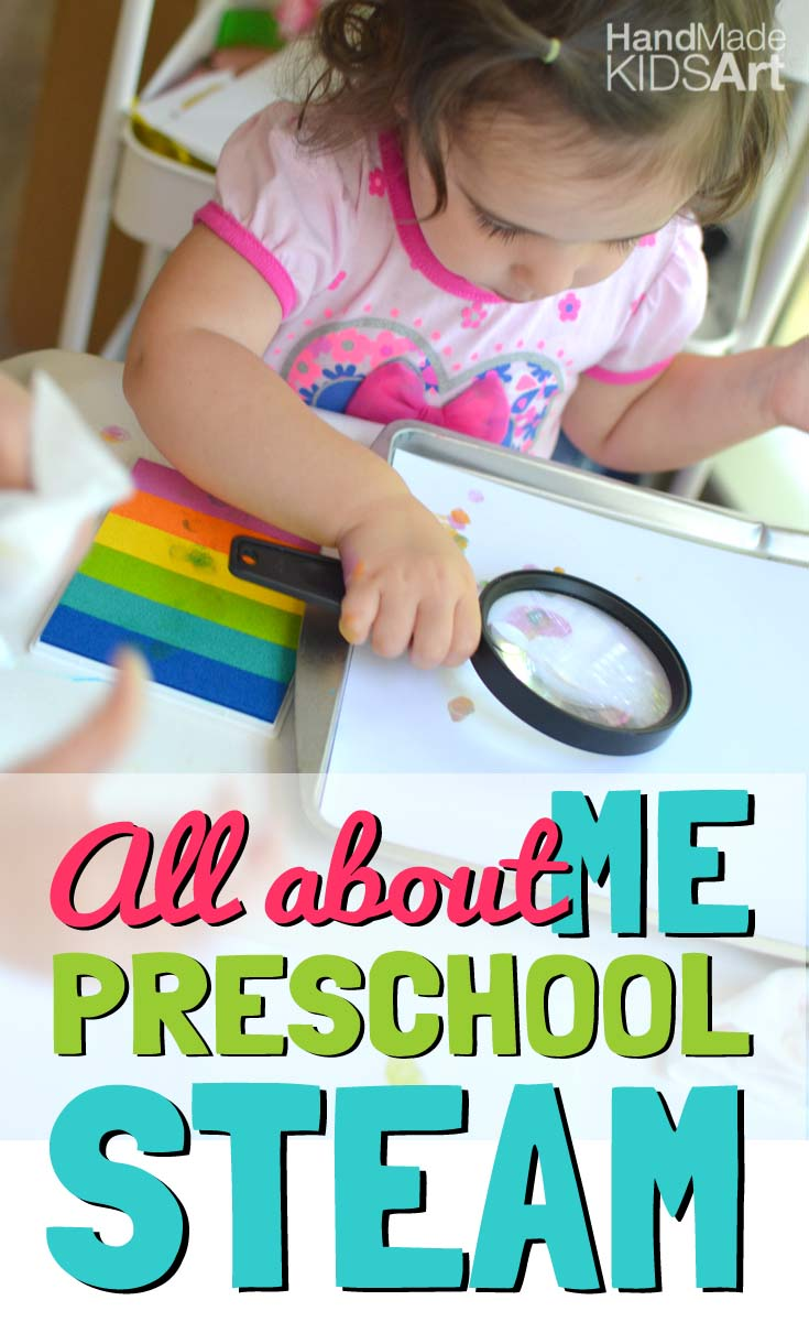 """Preschool Science Activity """"All About Me"""""""