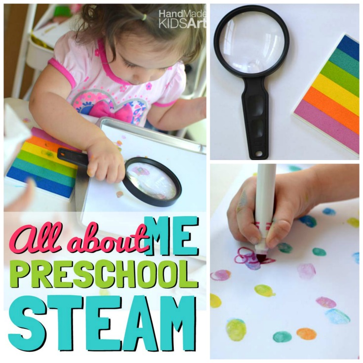 All About Me Science Activities for Preschoolers