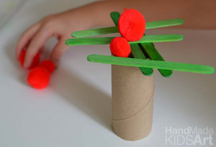 Apple Tree STEAM Activity for Preschoolers