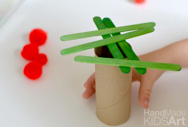 Engineering Activities for Preschoolers Apple Tree