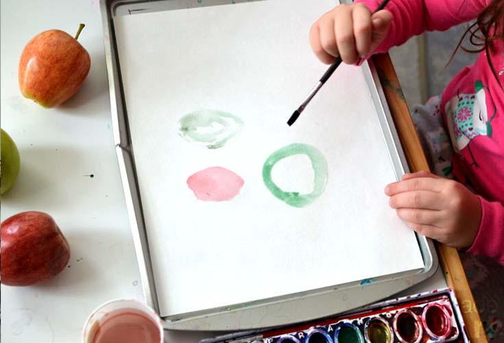 paint an apple m