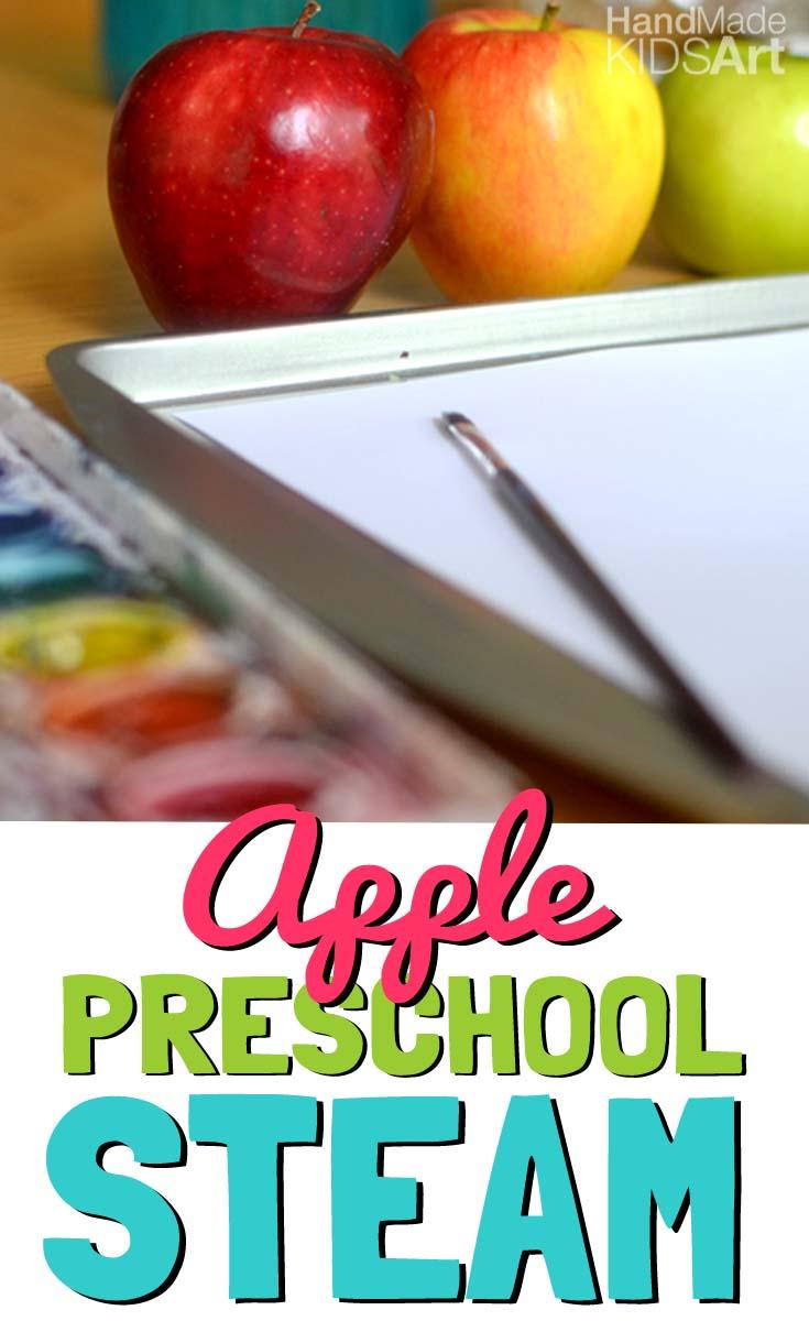 paint an apple pin