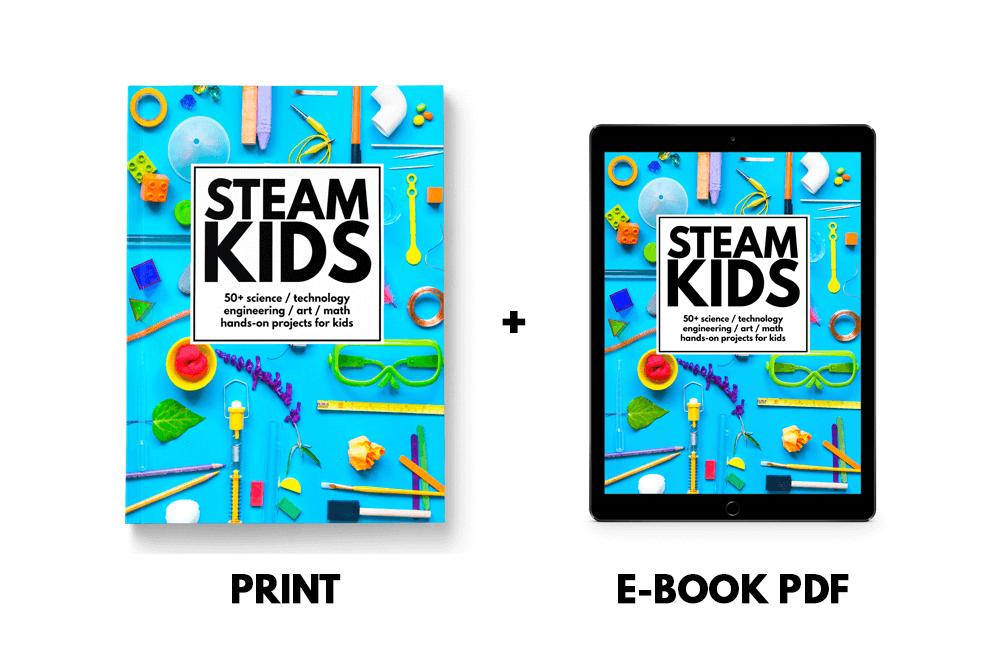 STEAM Kids Book Formats