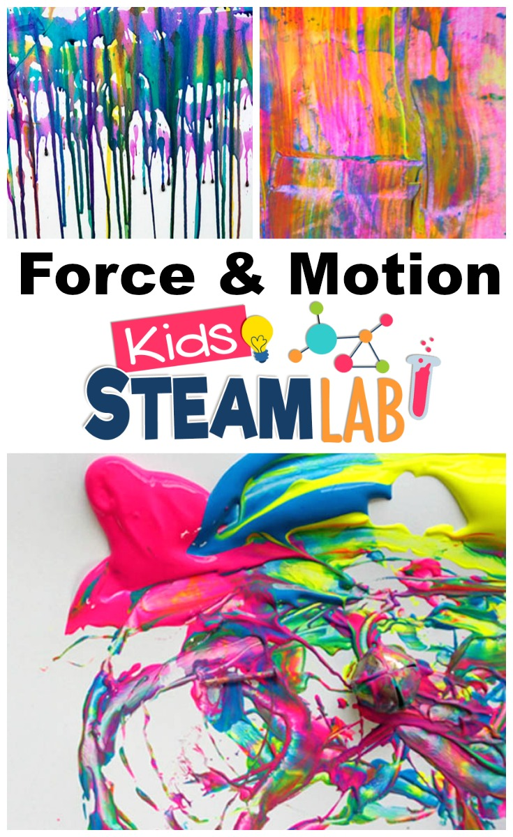 Explore Force Motion With Steam Activities For Kids Innovation Kids Lab